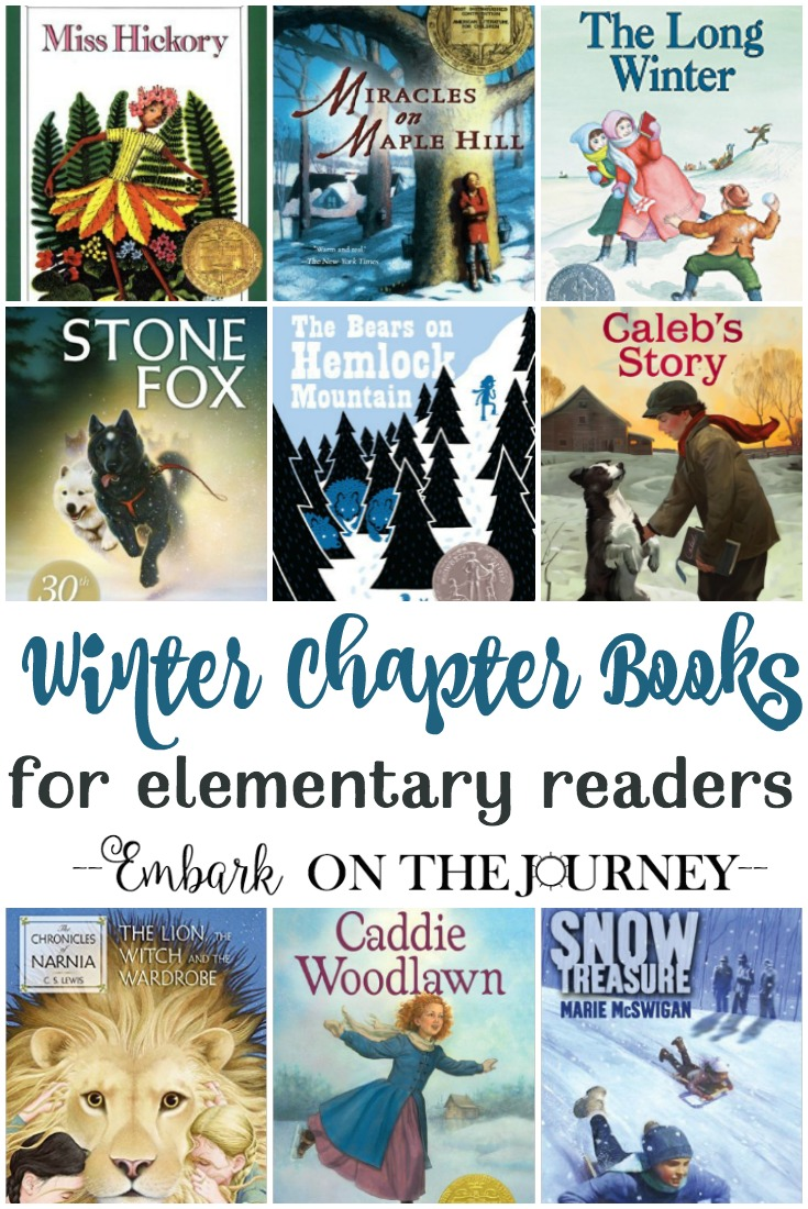 Cozy up with your kids and one of these great winter chapter books! They're perfect for independent readers and for reading aloud! | @homeschljourney