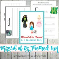 The Wizard of Oz Activities and Printables