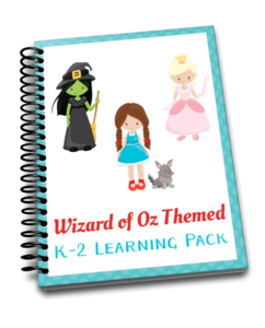 Wizard of Oz read-aloud, 60-page printable, and hands-on fun! | embarkonthejourney.com