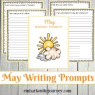 31 Elementary Writing Prompts for May