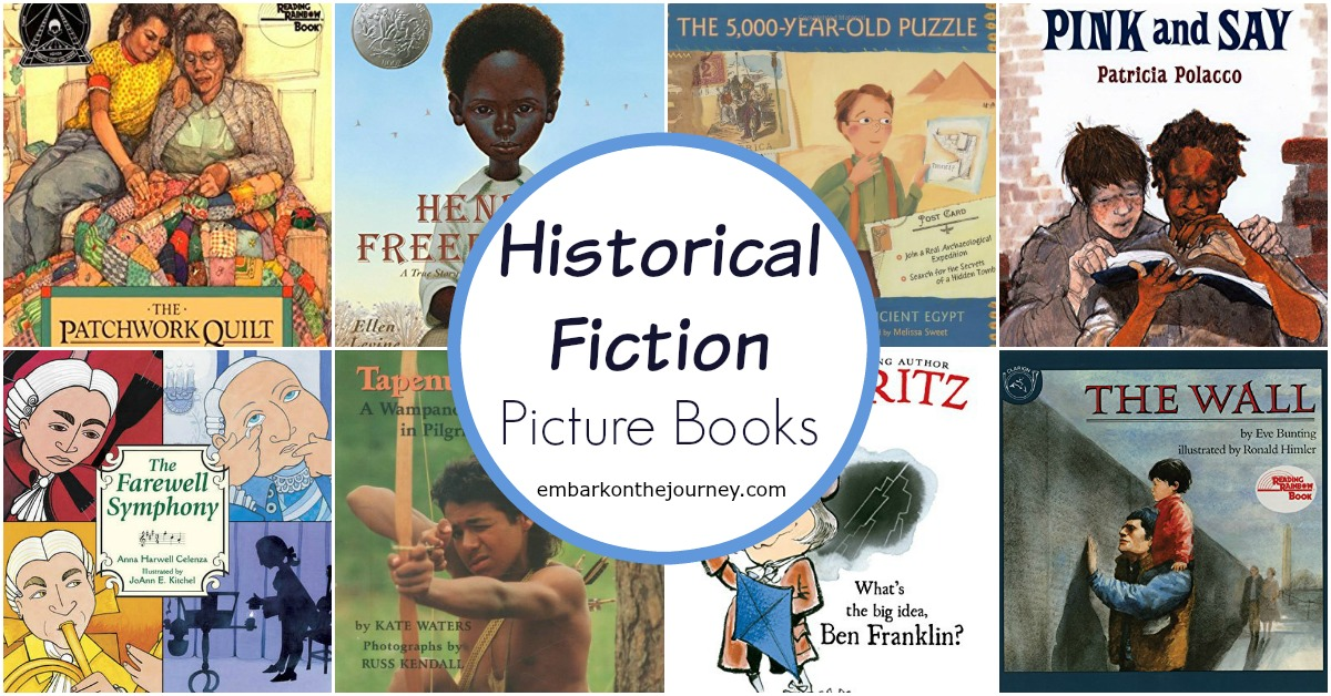 These historical fiction picture books will bring your homeschool history lessons to life! Use them for read-alouds or independent reading.