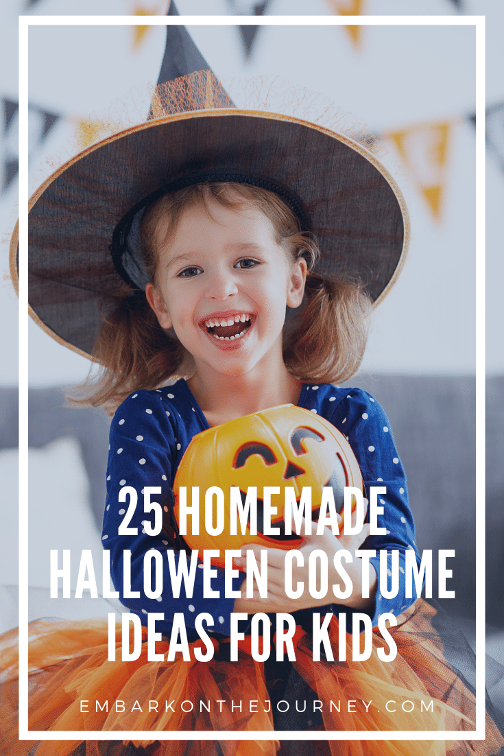 Last Minute Homemade Halloween Costume Ideas