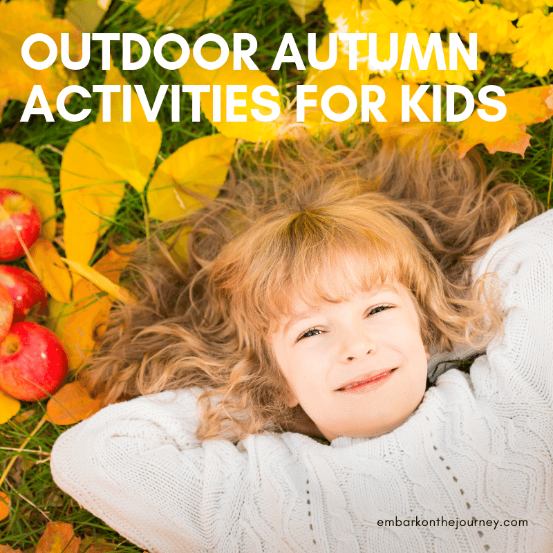 As the temperatures begin to drop, head outside with your kids. These outdoor autumn activities are sure to be a hit!