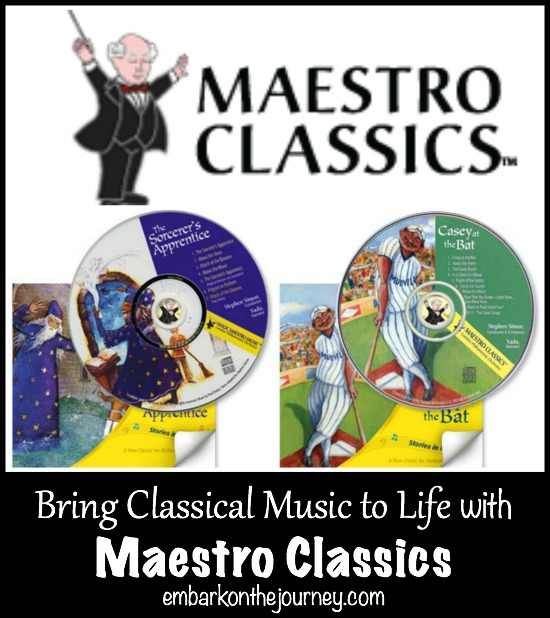 Bring Classical Music to Life with Maestro Classics! | embarkonthejourney.com