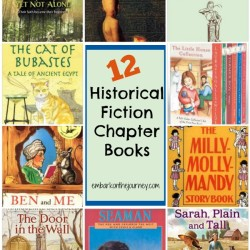 Historical fiction is a great way to bring your history lessons to life! | embarkonthejourney.com