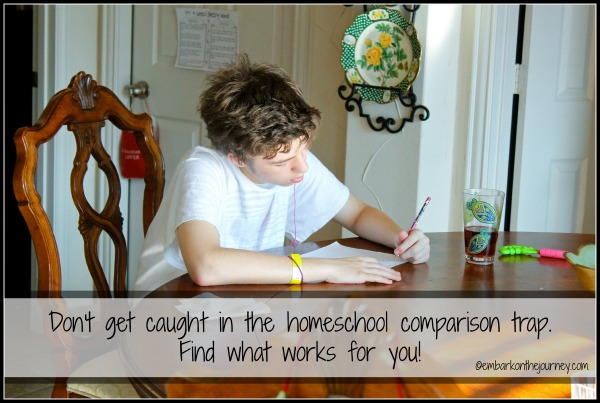 Don't Get Caught in the Homeschool Comparison Trap
