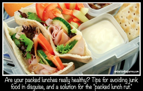 Is Your Packed Lunch Really Healthy?