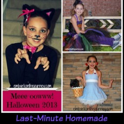 Last-Minute Homemade Halloween Costume Ideas