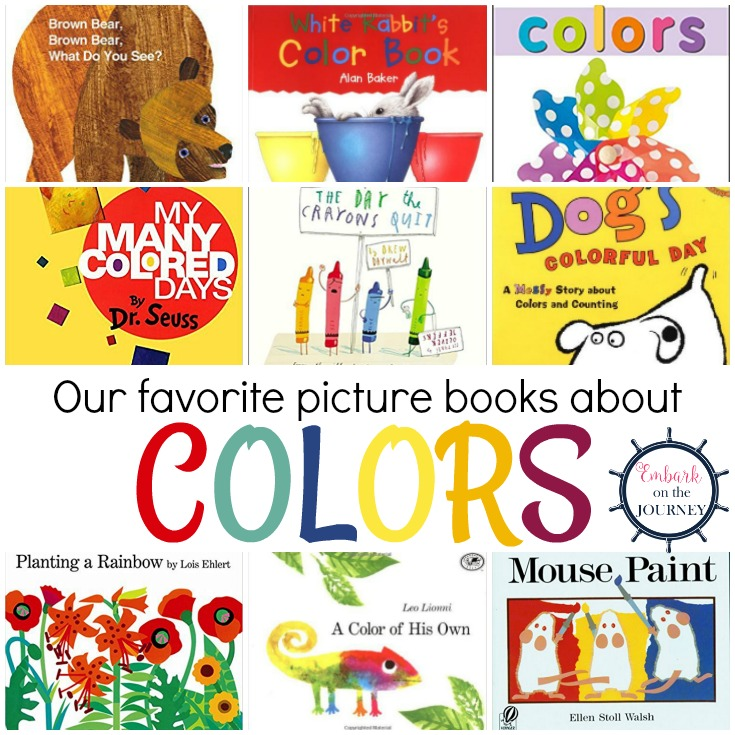 Books and Resources for Teaching Colors