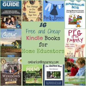 Free and Cheap Kindle Books for Homeschoolers 11.9.14
