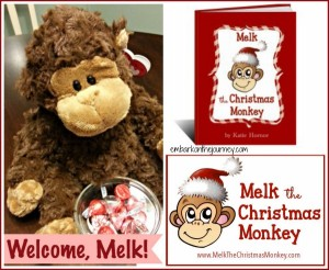 Melk the Christmas Monkey is Helping Us Keep Christ in Christmas