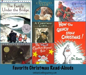 Our Favorite Christmas Read-Alouds | embarkonthejourney.com