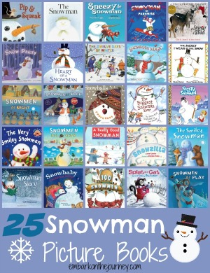 25 Snowman Picture Books for Kids