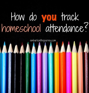 Recording Homeschool Attendance