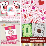 35+ Printable Valentines Day Cards and Coupons for Kids