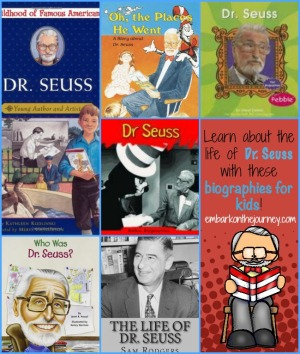 Dr. Seuss Biographies for Kids