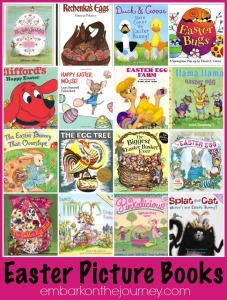 Easter Picture Books | embarkonthejourney.com