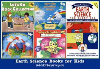Earth Science Books for Kids
