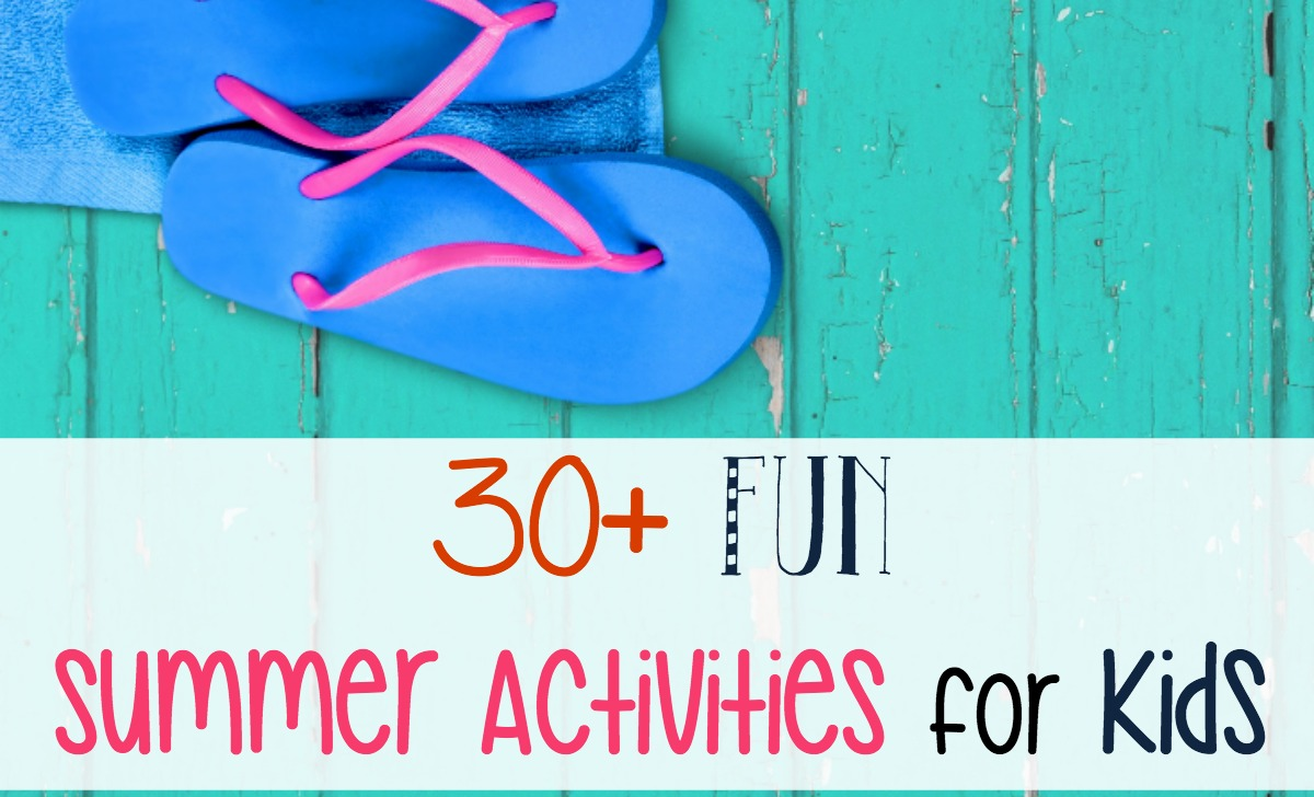 Summer is just around the corner. In order to beat the summer blahs, I've created a fun activity schedule which contains over 30 fun summer activities for kids! | embarkonthejourney.com