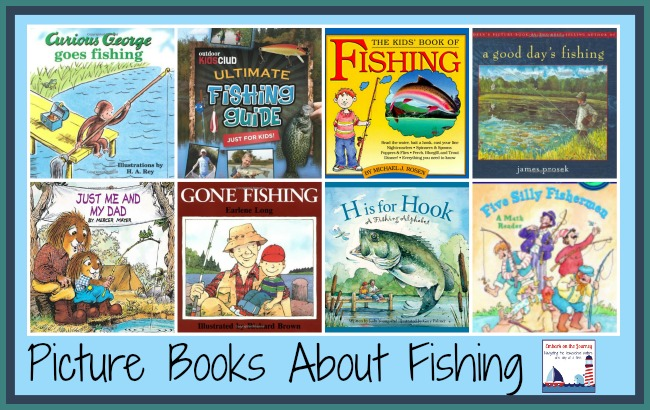 Picture books about fishing | embarkonthejourney.com