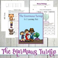 Printables and Activities for The Enormous Turnip