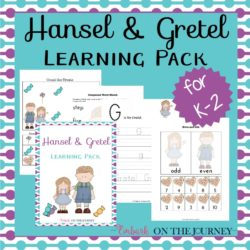 Hansel and Gretel Printable and Activities