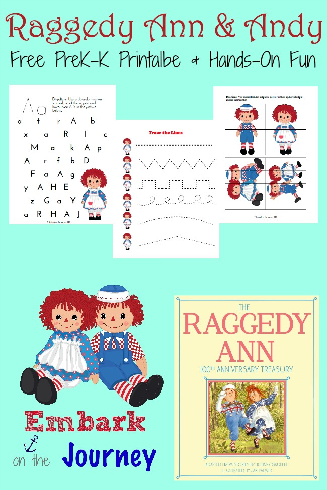 FREE Raggedy Ann and Andy Printables - Homeschool Giveaways | 975x650