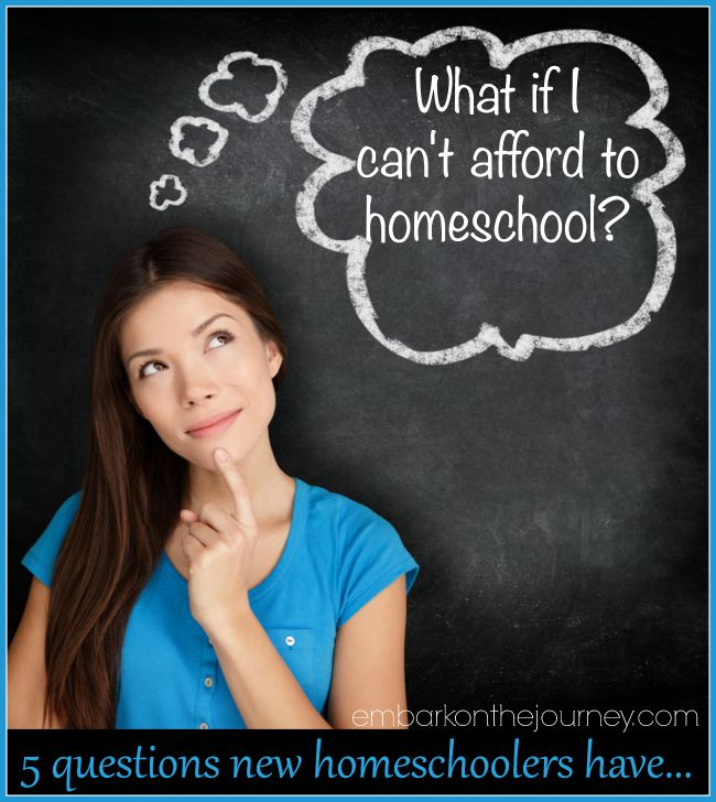 What If I Can't Afford to Homeschool?