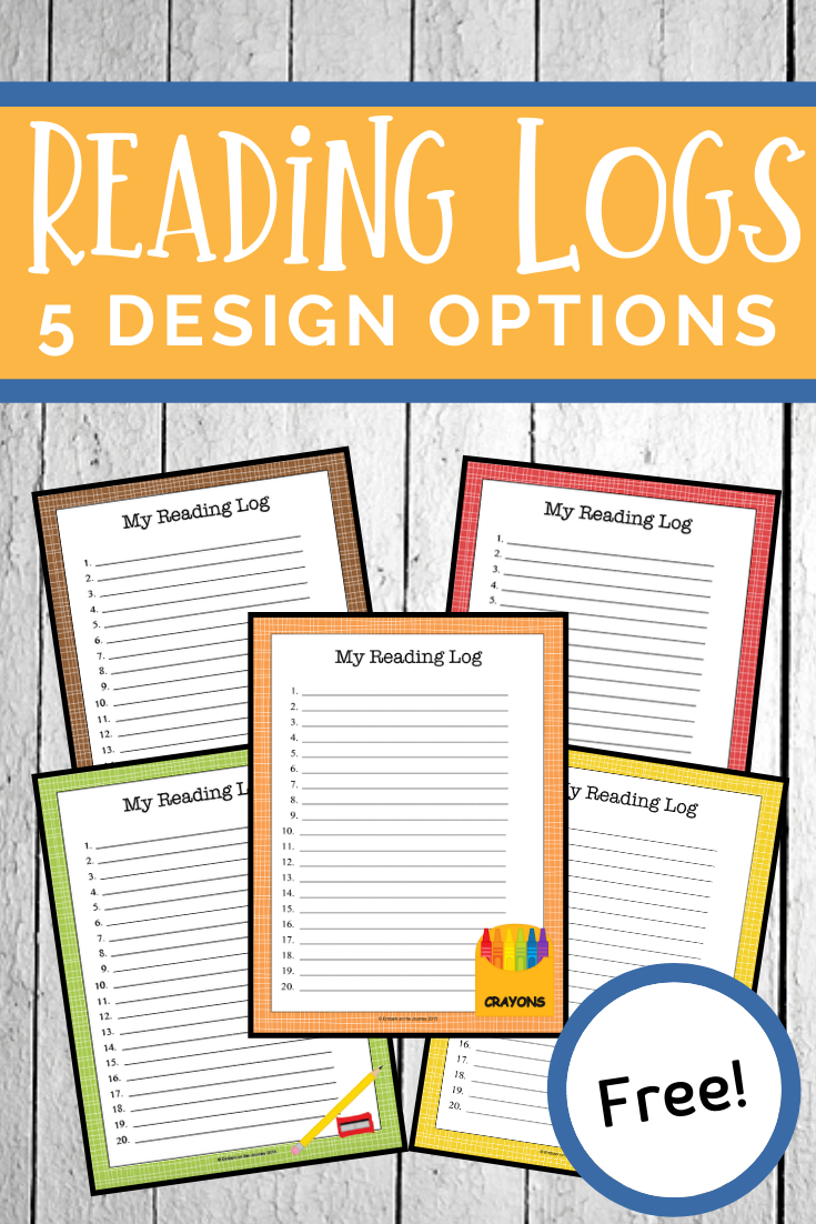 Free printable reading logs for home or classroom use! These are perfect for summer reading logs, daily reading logs, and more. Great for all ages.