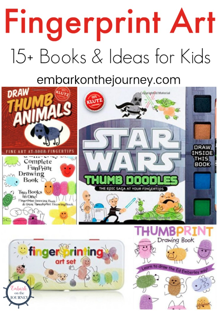 With some stamp pads, paper, and a little imagination, your kids will have a blast creating unique fingerprint art. Check out these ideas for inspiration.
