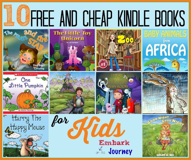 10 Free and Cheap Kindle Books for Kids