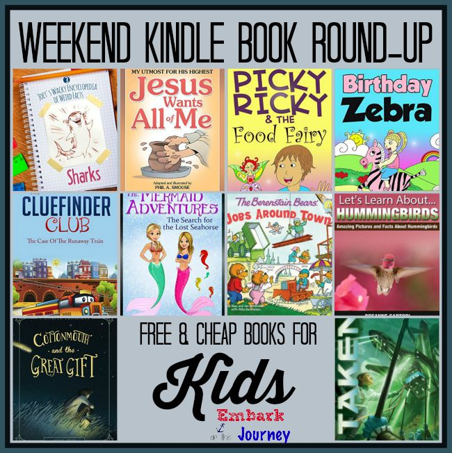 Weekend Kindle Kids Book Round-Up: September 19