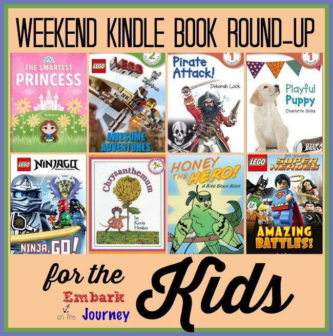 Weekend Kindle Kids Book Round-Up: September 13