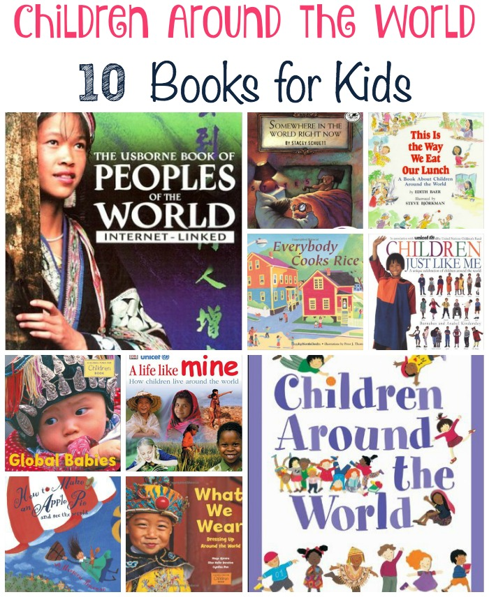 Introduce your children to children of different cultures with these Children Around the World books. | embarkonthejourney.com