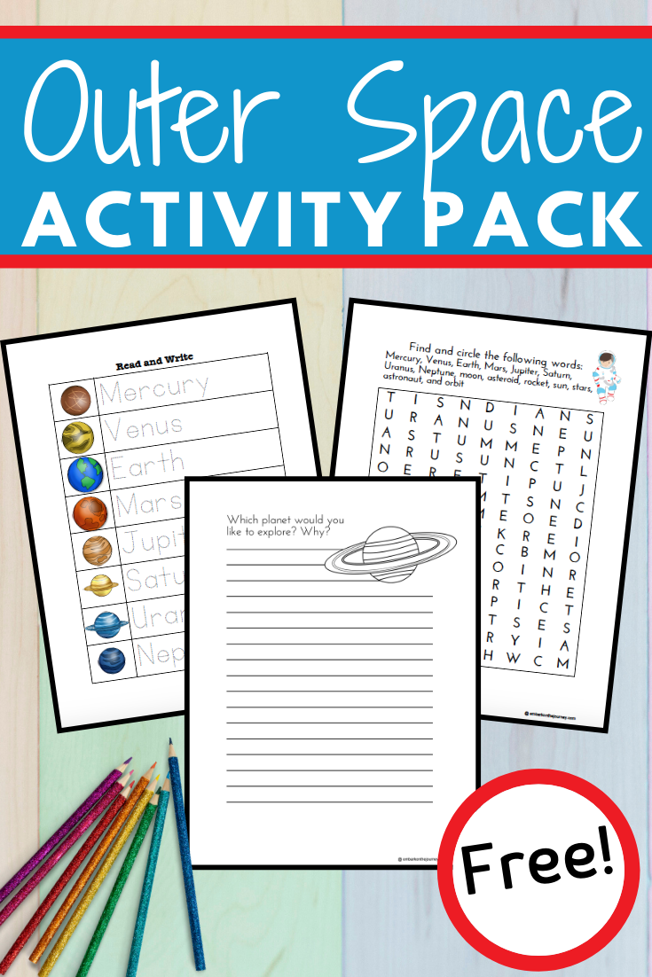 If you are planning to teach the solar system to your little ones, check out this fun solar system for kids printable that is perfect for kids ages 3-8.