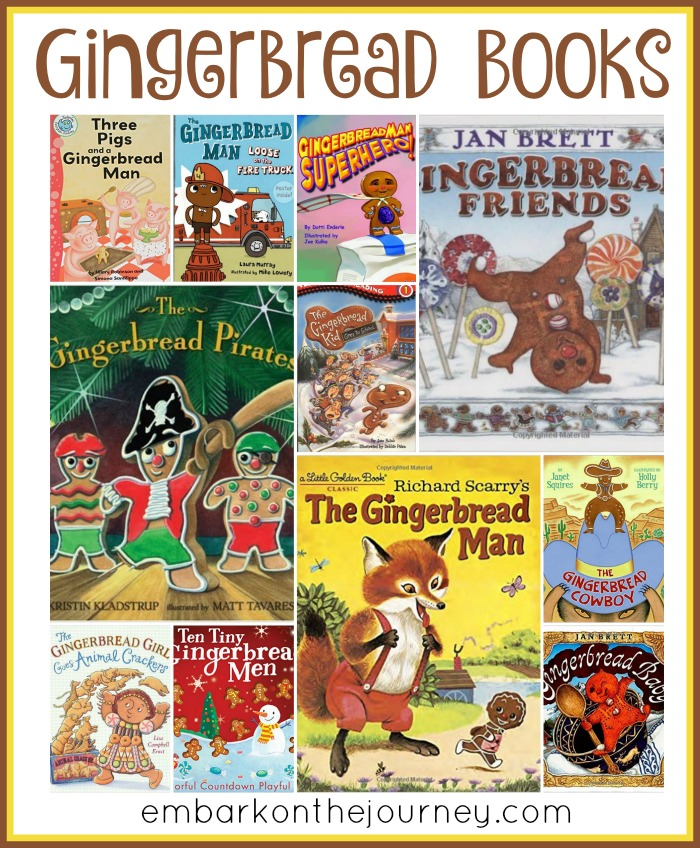 15 Funny Gingerbread Books