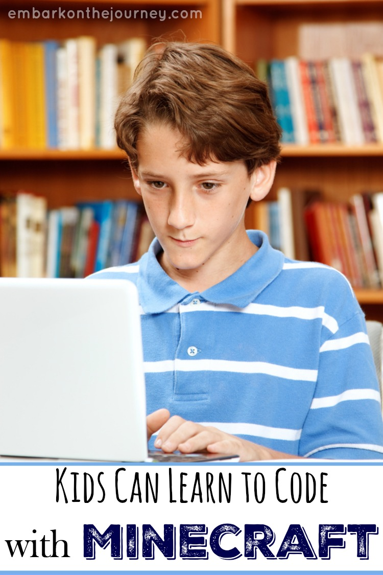 Kids Can Learn to Code with Minecraft
