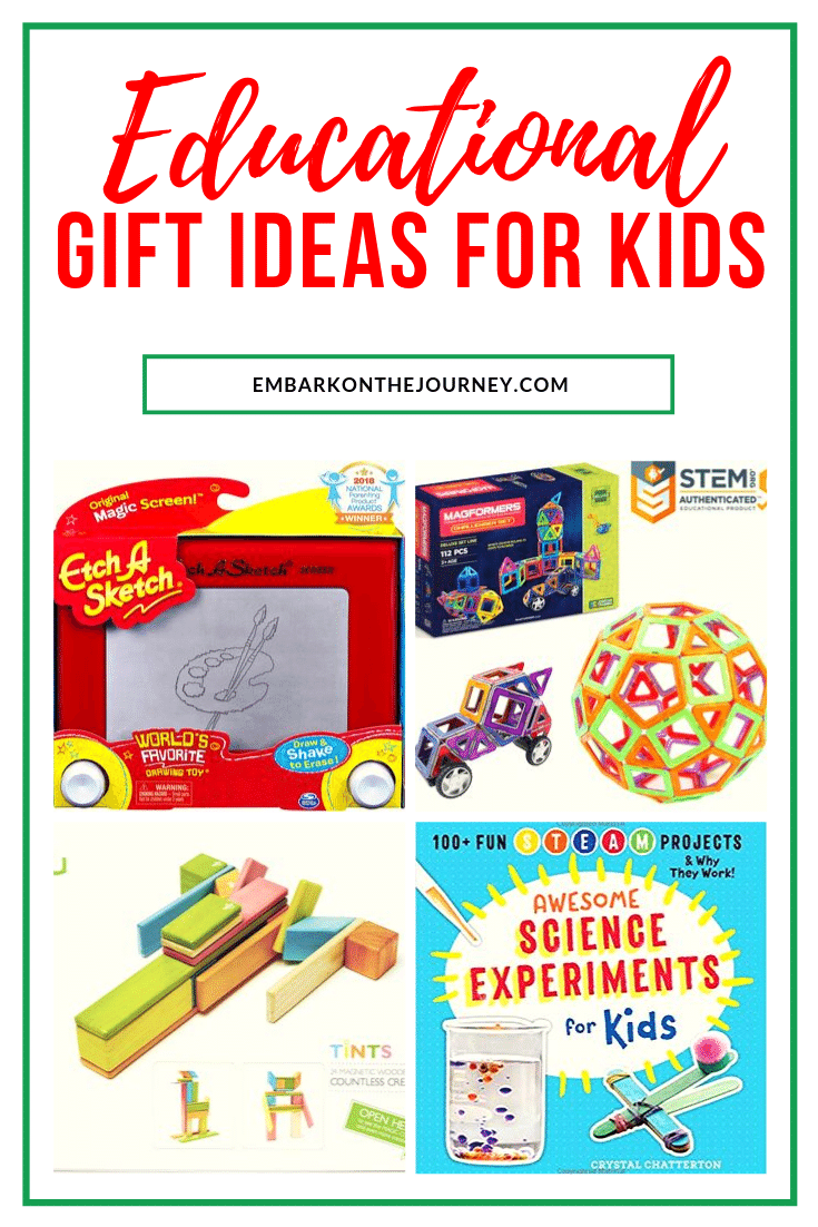 Inspire your kids with Christmas gifts that are both fun and educational! They'll love these educational Christmas gifts that include books, art & science!