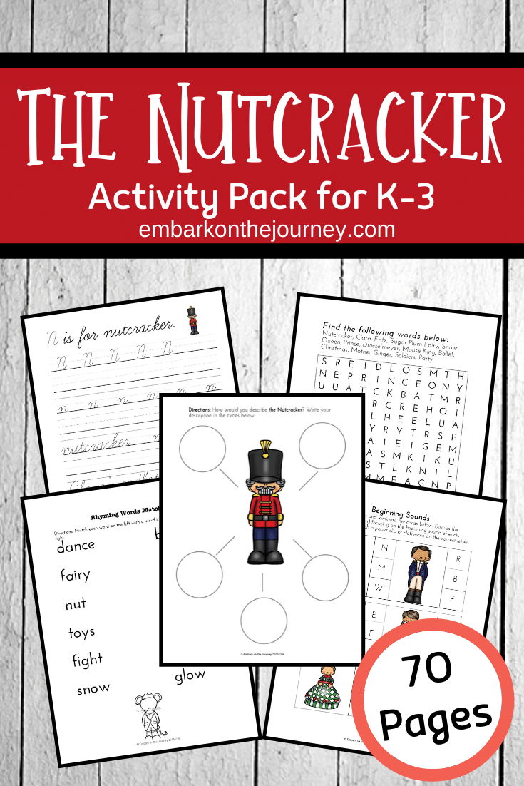 These Nutcracker printables are perfect for the holiday season! There are 70 pages of math and literacy activities geared for elementary aged kids!