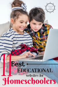 11 of the best educational websites for homeschoolers! We've tested each of these sites, and either we use them currently or have used them in the past.   embarkonthejourney.com