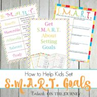How to Help Kids Set SMART Goals