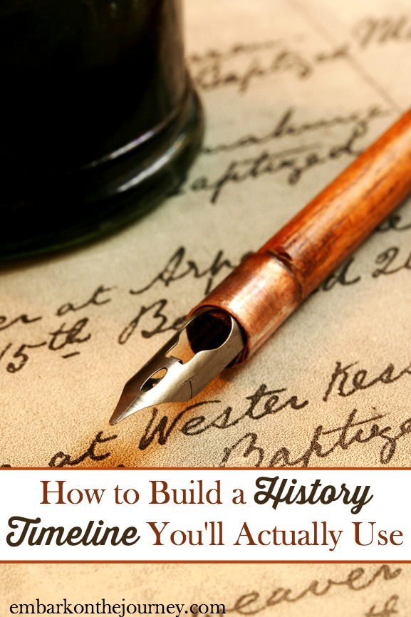 How to Build a History Timeline You'll Actually Use