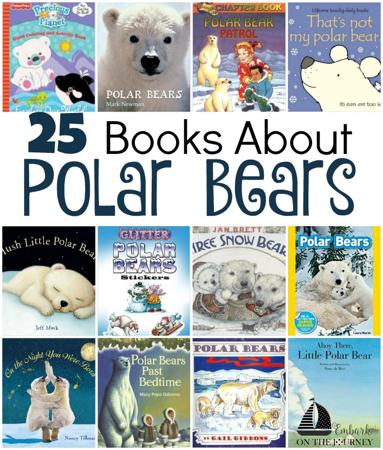 25 Polar Bear Books for Kids of All Ages
