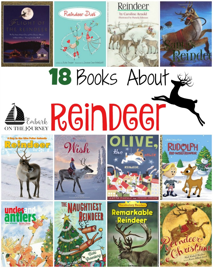 18 Reindeer Books for Kids
