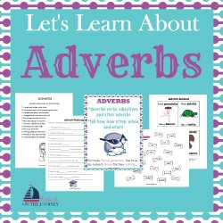 This free mini-pack is a great addition to your grammar lessons. Introduce or reinforce adverbs with these free worksheets. | embarkonthejourney.com