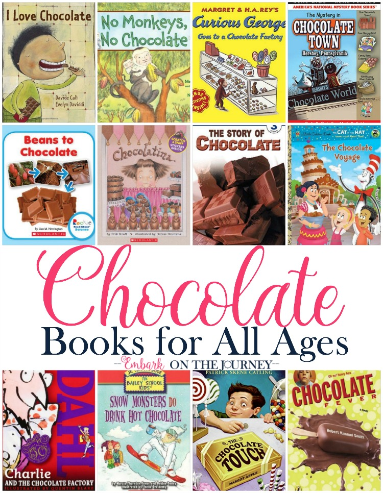 Your readers will love these books about chocolate! | embarkonthejourney.com