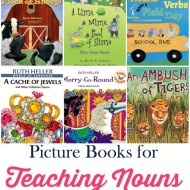 Teaching Nouns with Picture Books