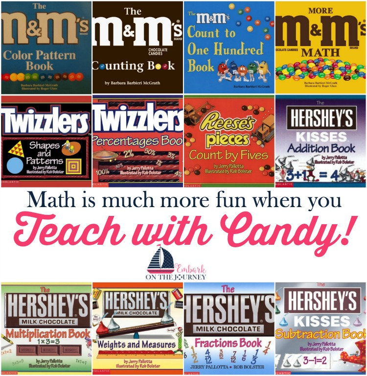 Make math more fun when you teach with candy! | embarkonthejourney.com