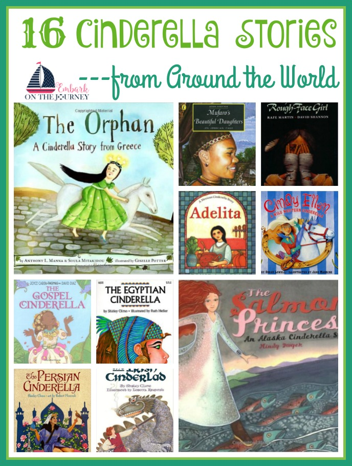 Take a unique look at a beloved story with these Cinderella stories from around the world. From the Wild West to China, Africa, and more, these books make a great exercise in compare/contrast and make great discussion starters. | embarkonthejourney.com