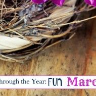 Homeschool Through the Year: March